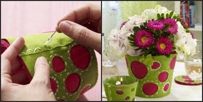 Оригинальная ваза.