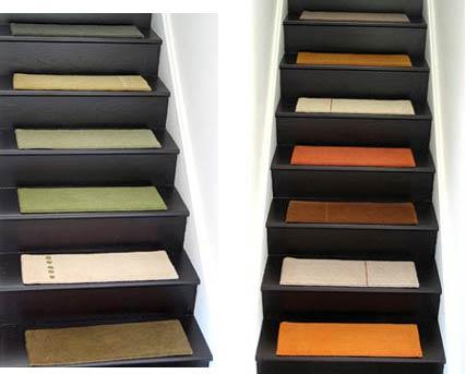 Оформление лестниц - Покрытие для лестниц