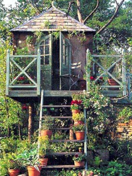 Деревянные домики для детей