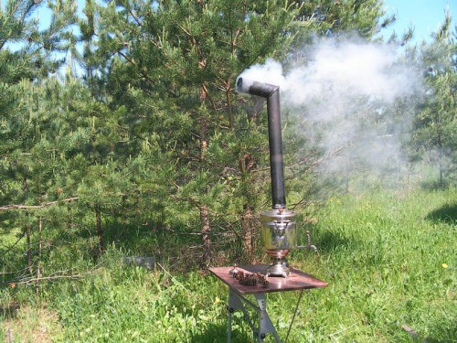 Газовая плита на даче (3)