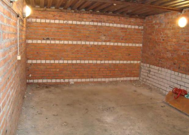 Построить гараж своими руками из кирпича