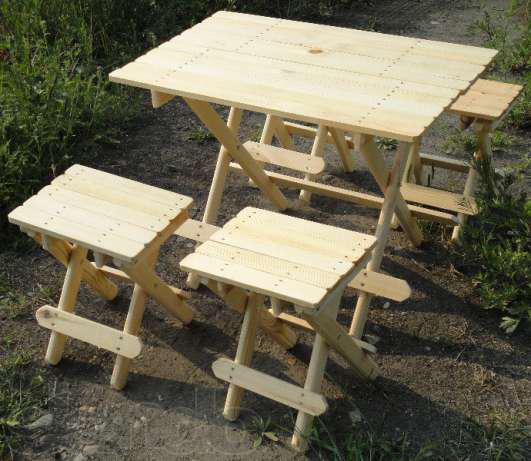Мебель для дачи — идеи и фото