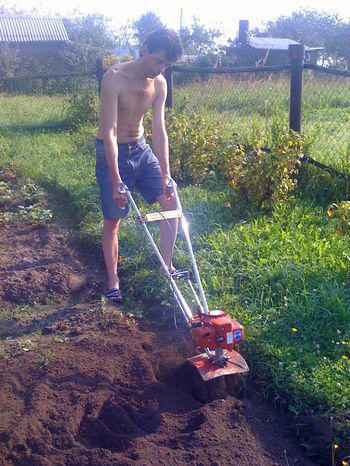 Культиватор для огорода своими руками