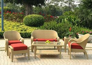 Плетеная мебель для дачи (3)