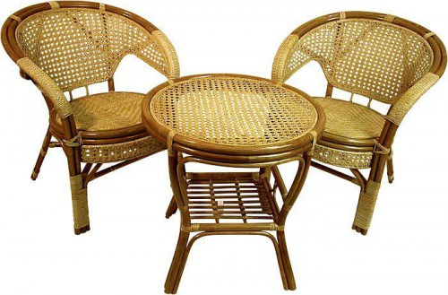 Плетеная мебель для дачи (2)