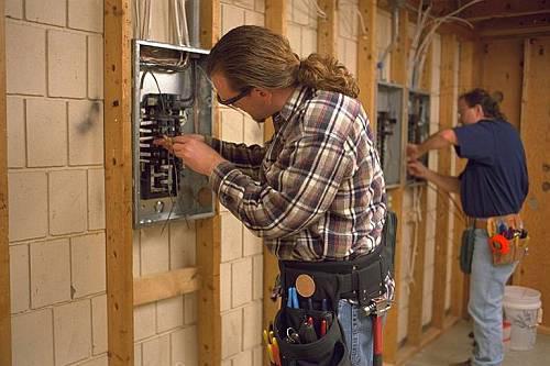 Электропроводка на даче (3)