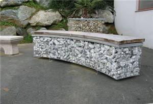 Камни в сетках - габионы (2)