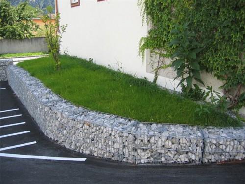 Камни в сетках - габионы (7)
