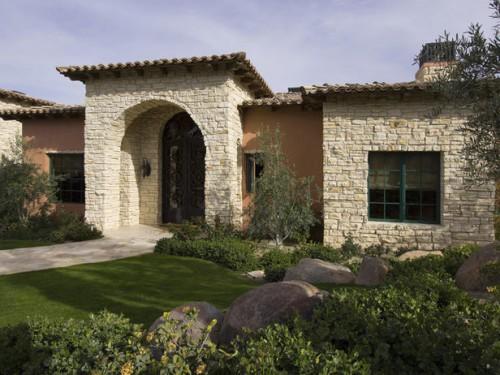 Дизайн входа в дом - 12 идеи для оформления сада (8)