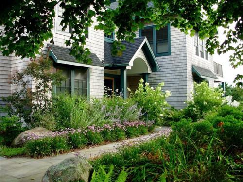 Дизайн входа в дом - 12 идеи для оформления сада (3)