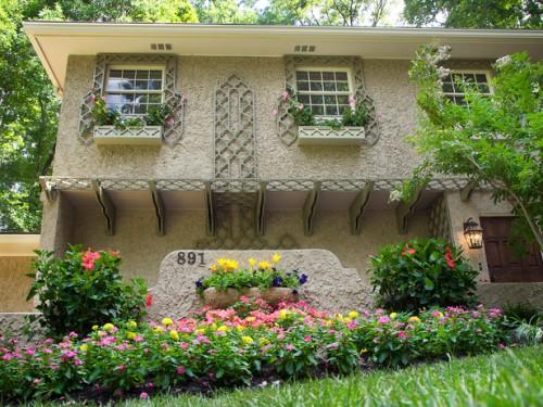 Дизайн входа в дом - 12 идеи для оформления сада (6)