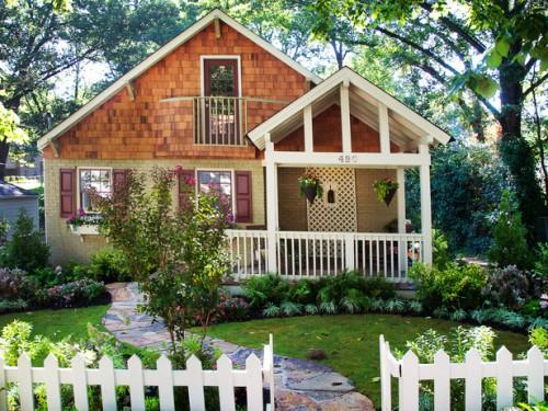 Дизайн входа в дом - 12 идеи для оформления сада (9)