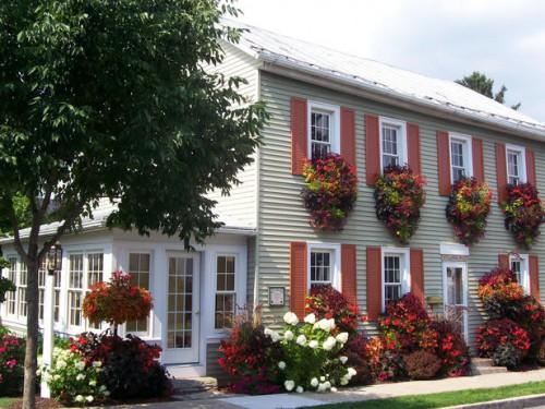 Дизайн входа в дом - 12 идеи для оформления сада (1)