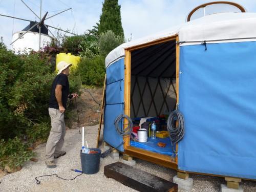 Палатка домик - необычный тент (5)
