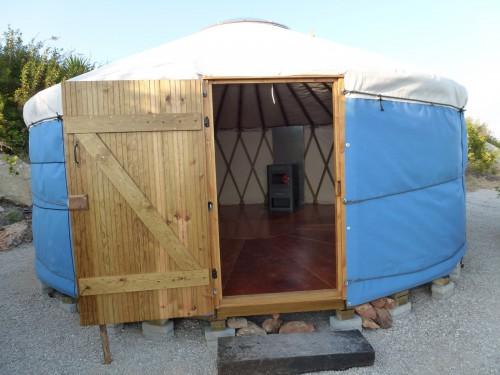 Палатка домик - необычный тент (4)