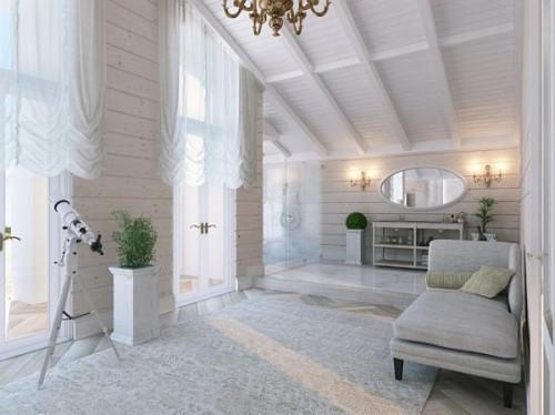 Дизайн интерьера загородного дома 1