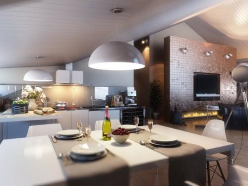дизайн интерьера загородного дома   (4)