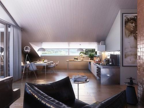 дизайн интерьера загородного дома   (11)