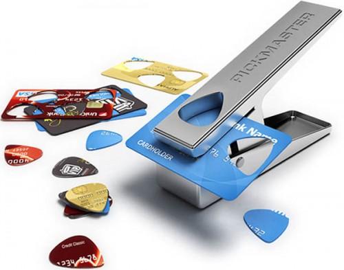 Как самому сделать медиатор для гитары