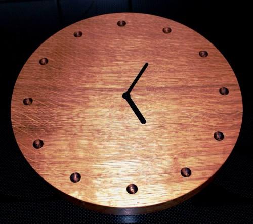 Декорируем часы настенные своими руками