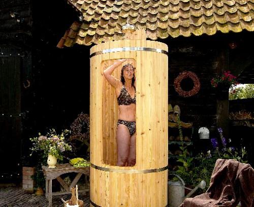Летний душ своими руками - летний душ для дачи (7)