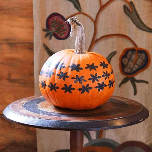 Украшение на Хэллоуин - что сделать из тыквы (19)
