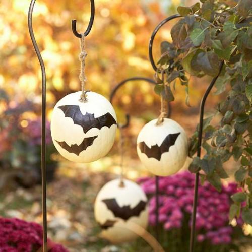 Украшение на Хэллоуин - что сделать из тыквы (5)