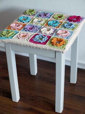 вязание крючком для дома накидки на стулья.