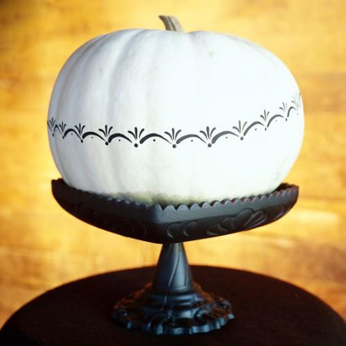 Украшение на Хэллоуин - что сделать из тыквы (13)
