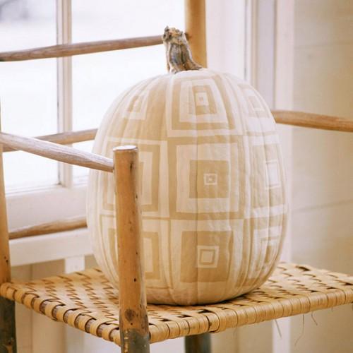 Украшение на Хэллоуин - что сделать из тыквы (8)