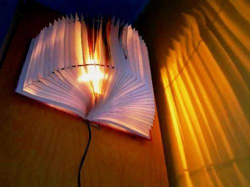 Лампы своими руками - необычная лампа (3)