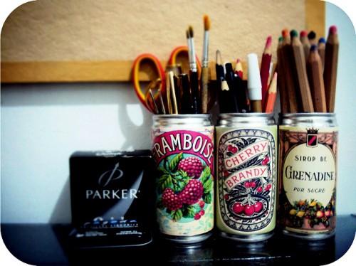 Поделки из жестяных банок - идеи интерьера своими руками (6)