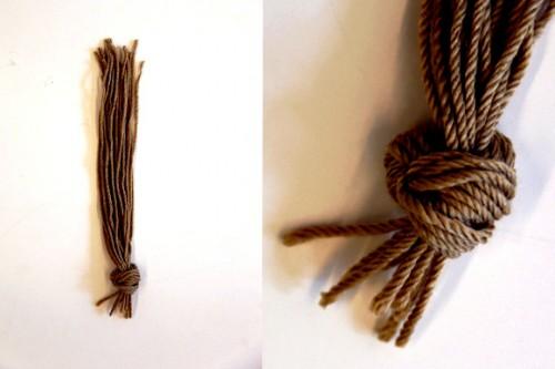 Сделать куклу своими руками - кукла из соломы  (4)