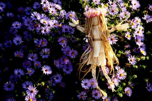 Сделать куклу своими руками - кукла из соломы  (14)