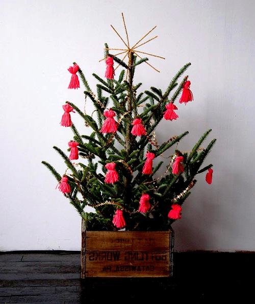Как украсить елку - самодельные игрушки на елку (1)