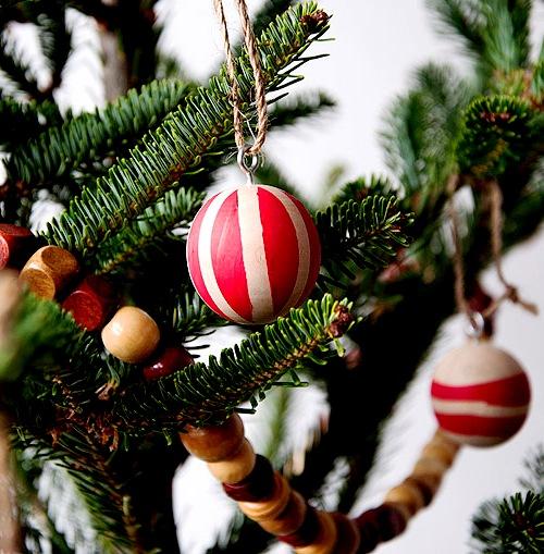Как украсить елку - самодельные игрушки на елку (7)