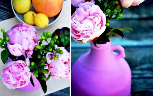 Декор дома своими руками - ваза из бутылки своими руками (3)
