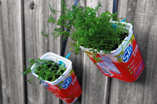 Горшки для цветов своими руками - как сделать горшок для цветов (14)