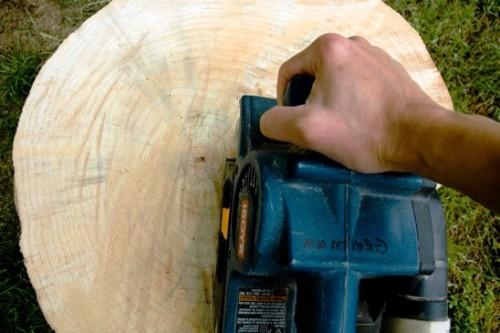 Как сделать журнальный стол - дачный стол своими руками (6)