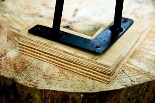 Как сделать журнальный стол - дачный стол своими руками (9)