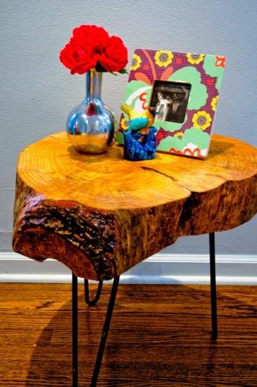 Как сделать журнальный стол - дачный стол своими руками (16)