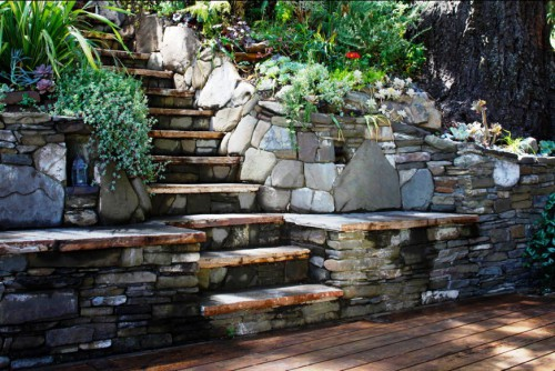 Идеи для сада - вертикальные планировки участка (1)