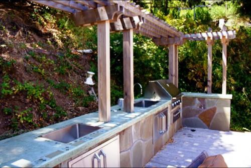 Идеи для сада - вертикальные планировки участка (3)