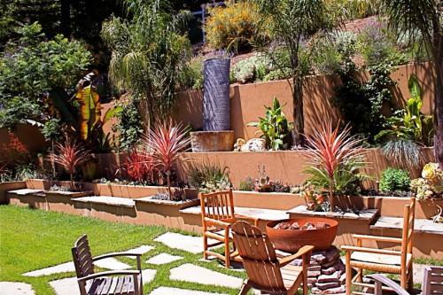 Идеи для сада - вертикальные планировки участка (10)
