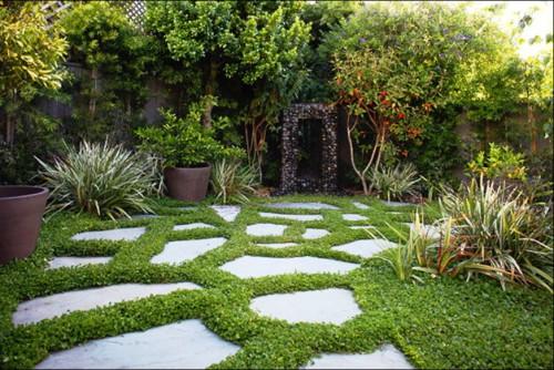Идеи для сада - вертикальные планировки участка (13)