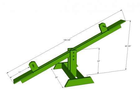 Как сделать качели - качели для дачи (2)