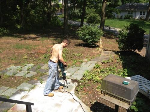 Красивый вход в дом - красивый сад своими руками (5)