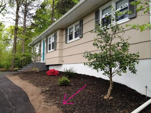 Красивый вход в дом - красивый сад своими руками (9)