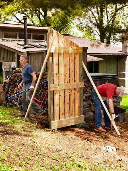 Навес для дров своими руками - как самому сделать навес (7)