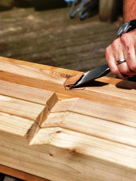 Навес для дров своими руками - как самому сделать навес (9)